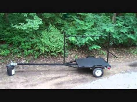 diy canoe  kayak trailer youtube