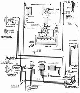 1972 Chevy C10 Dash Cluster Wiring Diagram