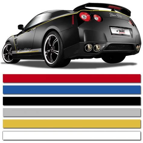 protection siege voiture pour siege auto bande adhésive déco stripe 3 mm