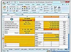 Training MS Excel Creating Salary Slips and Investment