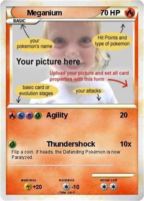 Sas* Clan  Make Your Own Pokemon Card Free