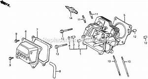 Honda Hs55 Snowblower Parts Diagram  Honda  Auto Parts