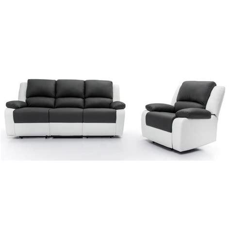 ensemble canap駸 relax ensemble canap 233 relaxation 3 places fauteuil