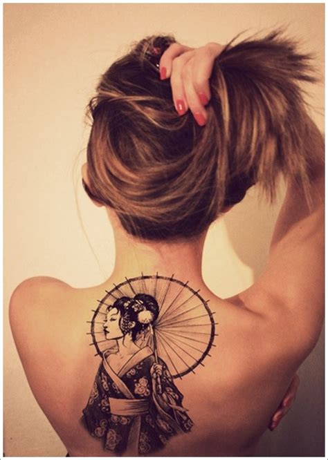 traditional geisha tattoo  inspire  artistic side
