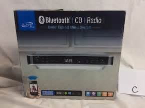 new ilive bluetooth fm radio cd player under cabinet music