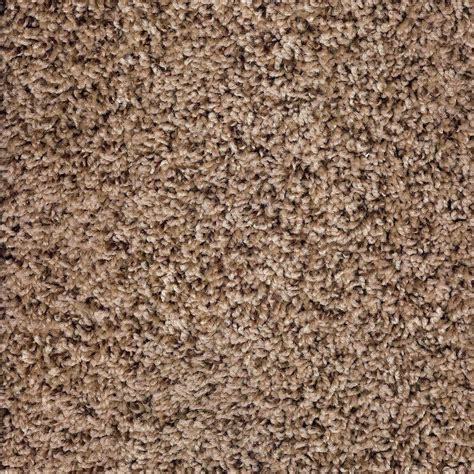 Simply Seamless Carpet Tile Premium by Simply Seamless Tranquility Toffee Texture 24 In X 24 In