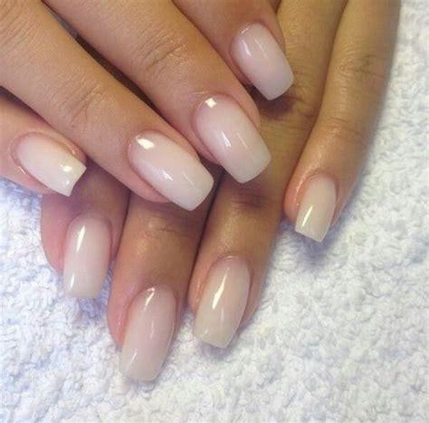 milchige naegel mit bildern milky nails nagelpflege
