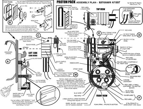 Ghostbusters Proton Pack Plans by 301 Moved Permanently