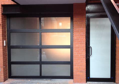 glass garage doors aluminum glass garage doors are a modern trend