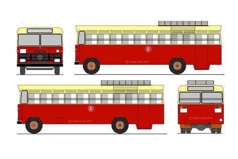 ksrtcs  tata bus   basic bus design     flickr