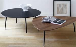 Table Basse Metal Ronde : table basse ronde soho design coedition studio coedition ~ Teatrodelosmanantiales.com Idées de Décoration