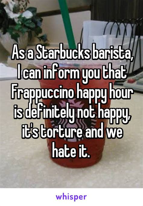 Why it happens, plus solutions. These 21 Things Will Always Make Your Starbucks Barista Angry