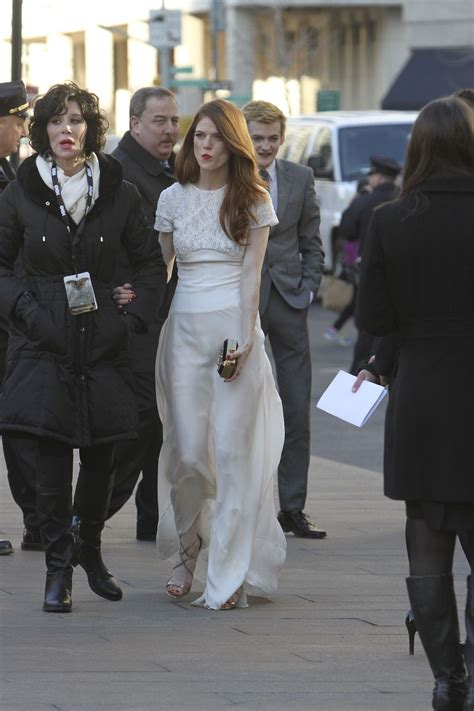 Rose Leslie and Jack Gleeson arriving at the Game of ...
