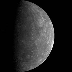Planet Mercury Map with Scale - Pics about space