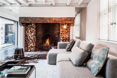 synergy  contrasting styles farmhouse renovation  belgium