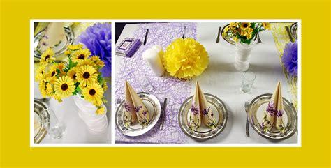 Tischdeko 50 Geburtstag Tischdekotips