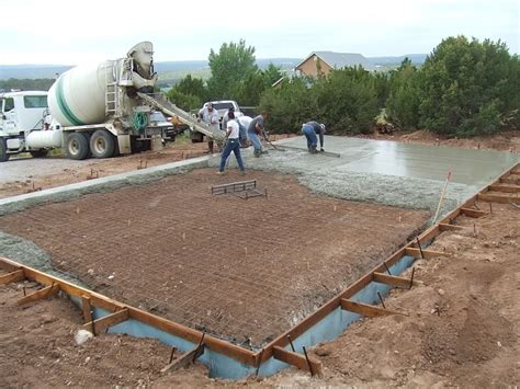 cost to pour a garage slab how to repair steps to pouring a concrete slab for a