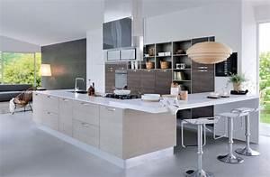 Aménagement Salle à Manger : amenagement cuisine salon salle a manger face aux prix de ~ Zukunftsfamilie.com Idées de Décoration