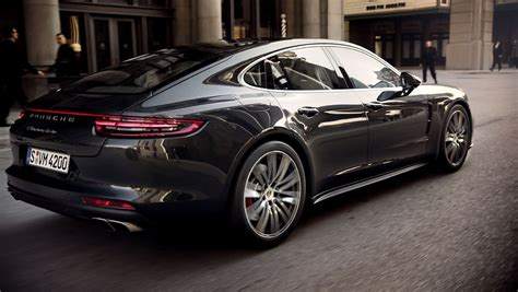 Porsche Panamera 4s by The New Panamera Turbo And Panamera 4s In Motion