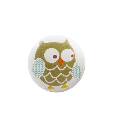 bouton de tiroir enfant boutons de meubles hiboux pour enfant boutons mandarine