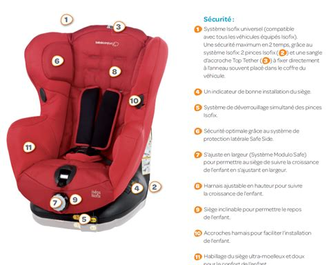 siège auto bébé confort isofix bebe confort siège auto iséos isofix gr 1 achat vente