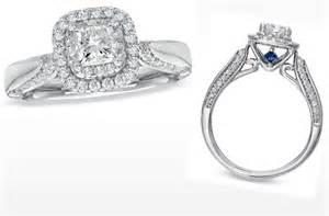 vera wang wedding rings vera wang engagement ring princess cut frame onewed