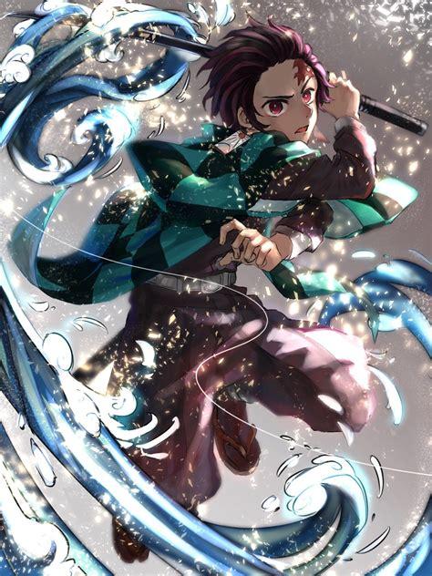 Tanjiro Kamado Wallpaper Demon Slayer Wallpaper Iphone