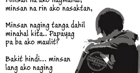 tagalog broken hearted quotes  pinoy broken hearted
