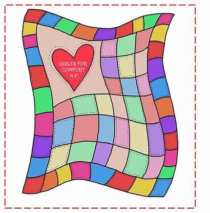 Quilt Clip Clipart Quilting Quilts Patchwork Blanket