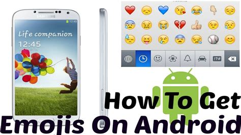 How To Get Emojis On Samsung Galaxy S4 Or Other Android