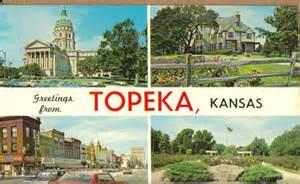 Cedar Lamp by Greetings From Topeka Kansas Old Vintage Postcard