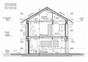 plan maison terrain en pente 11 architecte maison bois With exceptional realiser plan de maison 11 architecte chasselay