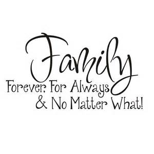 vinyl attraction 39 family forever for always no matter what 39 vinyl wall