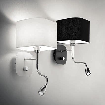 luminaire pour chambre adulte applique pour éclairer une tête de lit avec liseuse à led