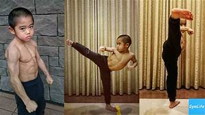 Baby Bruce Lee Ryusei Imai training 2017 Gymlife - YouTube