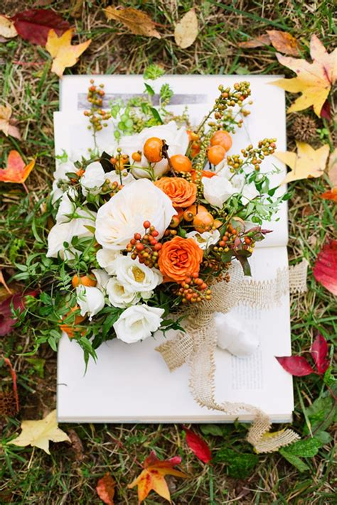 special wednesday fall wedding flower ideas bridal