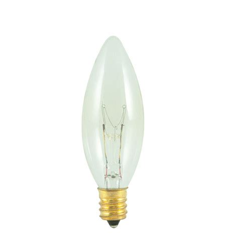 15 Watt Chandelier Light Bulbs by Bulbrite 15ctc 25 2 Chandelier Incandescent B8 E12 15 Watt