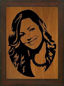 Scroll Saw Portrait Example 10 by Photography-by-John on
