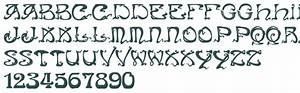 Art Nouveau Font Script | www.pixshark.com - Images ...