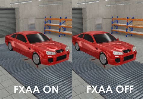 fxaa test image automation  car company tycoon game