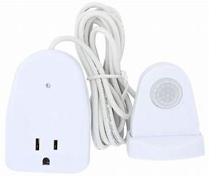 Outdoor Plug In Motion Activated Light Control