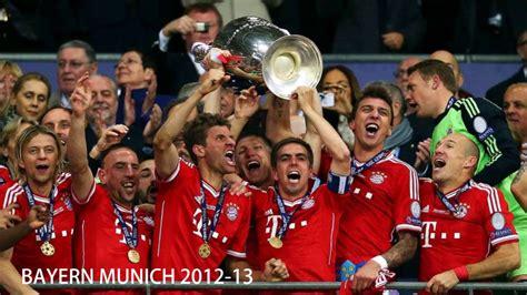 Champions league 2020/2021 scores, live results, standings. CAMPEONES DE LA CHAMPIONS LEAGUE - YouTube