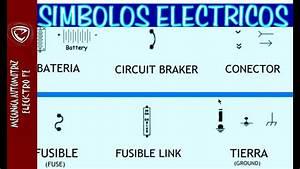 Simbolos Electricos Automotrices Para Leer Diagramas  Y