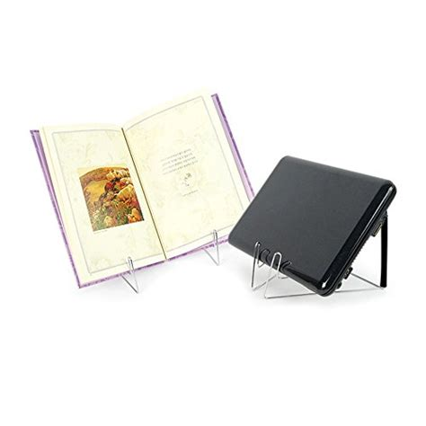 cookbook standblack fold  stow metal cook bookstand