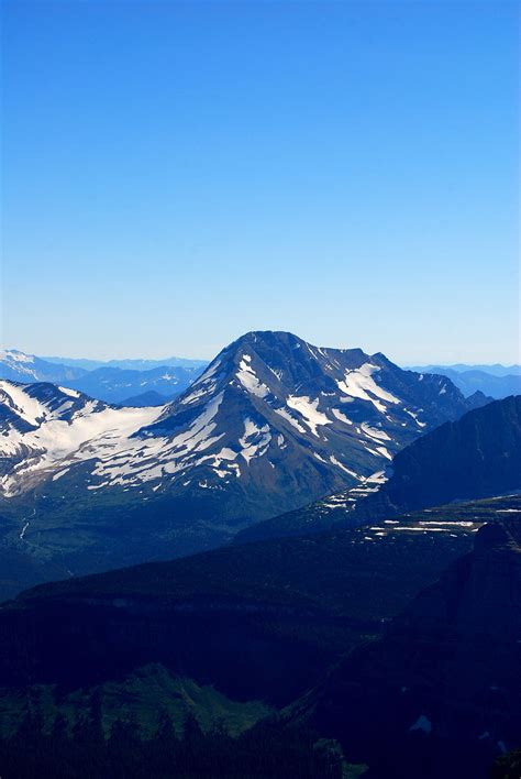 mountain ranges in list of mountains and mountain ranges of glacier national park u s