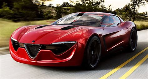 designer dreams  alfa romeo  sports coupe concept