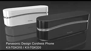 Panasonic Kx-tgk3  Super Stylish Cordless Phone