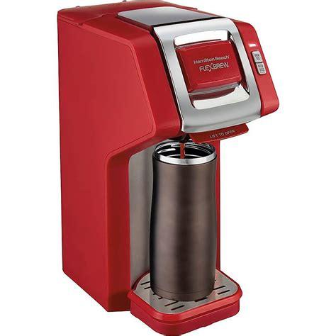 Discover hamilton beach® coffee makers. Hamilton Beach FlexBrew Single-Serve Coffee Maker RED 49945 - Best Buy