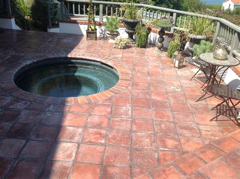 terra cotta outdoor patio tiles modern patio outdoor