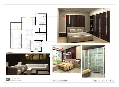 desain interior rumah mungil minimalis rumahku